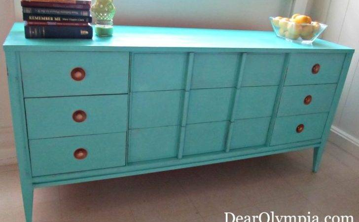 Turquoise Paint Cece Caldwell Chalk Clay Painted Furniture