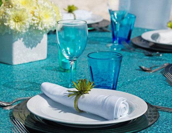 Turquoise Silver Wedding Table Decorations Galleryhip