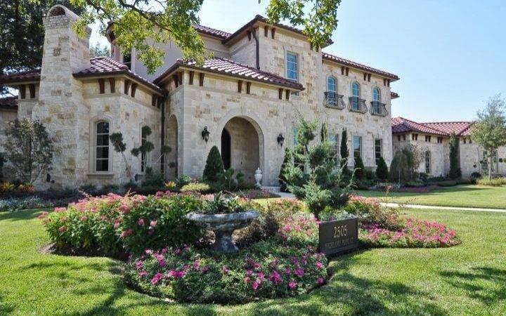 Tuscan Estate Larry Stewart Custom Homes Luxury Home Builders