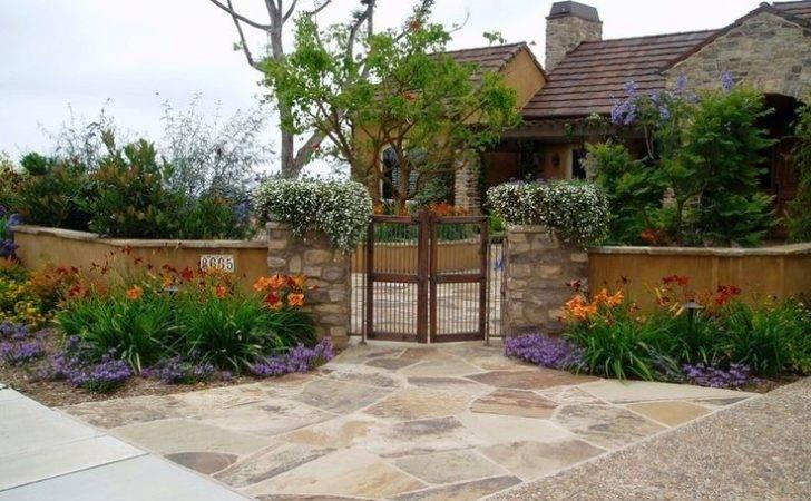 Tuscan Front Yard Landscape Joy Studio Design Best