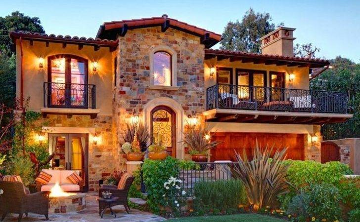 Tuscan Front Yard Landscaping Ideas Found Uploaded User More