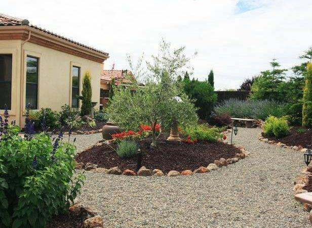 Tuscan Front Yard Landscaping Ideas Small Back