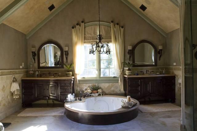 Tuscan Project Mediterranean Bathroom Chicago Letitia