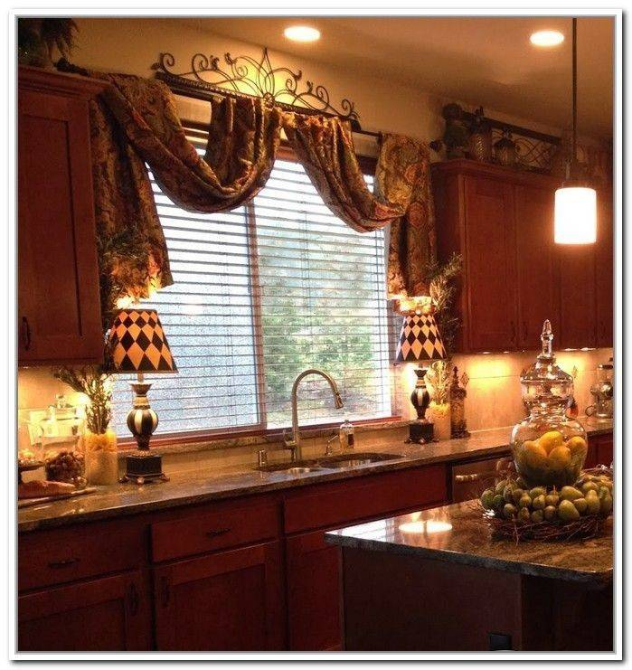 Tuscan Style Curtains Kitchen