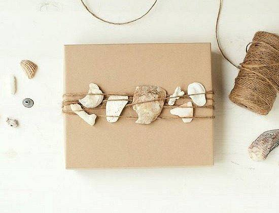 Twine Gift Wrap Packaging Paper Shells