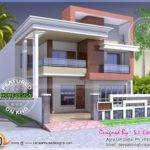 Two Flat Roof Tamilnadu Style House Designs Keralahousedesigns