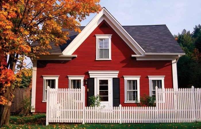 Two Men Little Farm Farmhouse Exterior Colors Decided