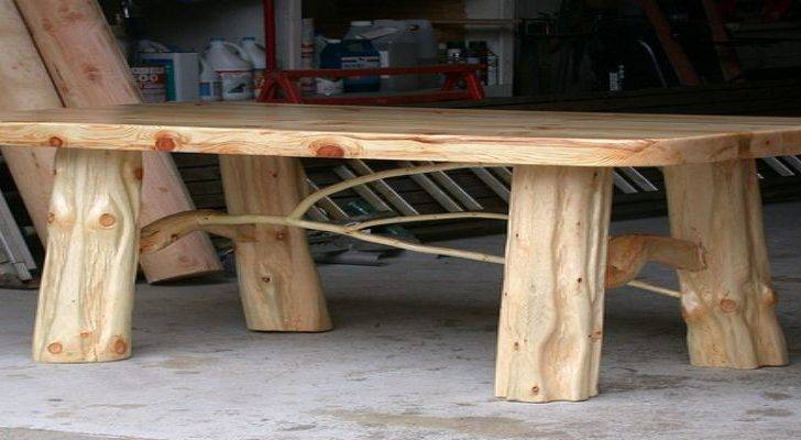 Type Wood Can Make Log Furniture Best