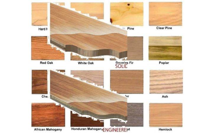 Types Hardwoods Youtube