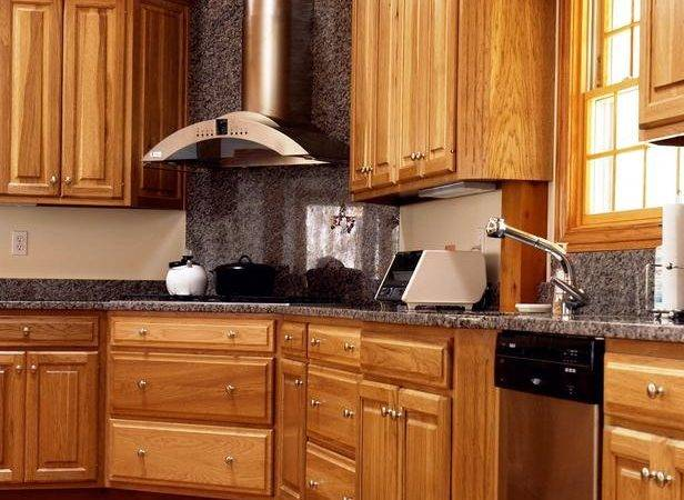 Types Kitchen Cabinets Wood