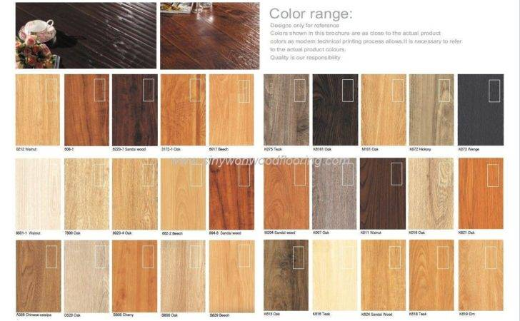 Types Laminate Wood Flooring
