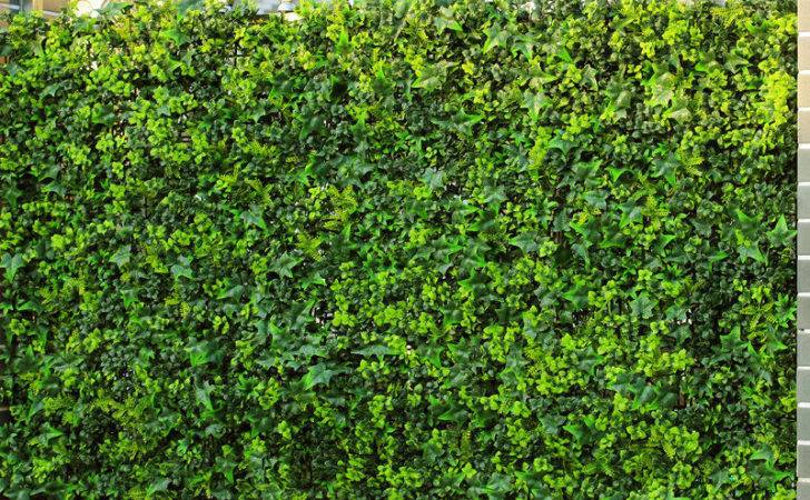 Uland Artificial Boxwood Hedge Shrub Fake Fencing Panel Garden
