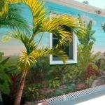 Ultimate Cool Garden Wall Murals Ideas Outdoor