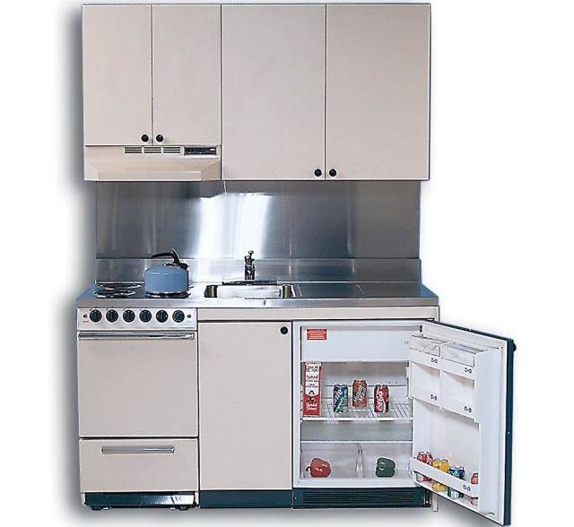 Ultra Compact Kitchenette Units Include All Features