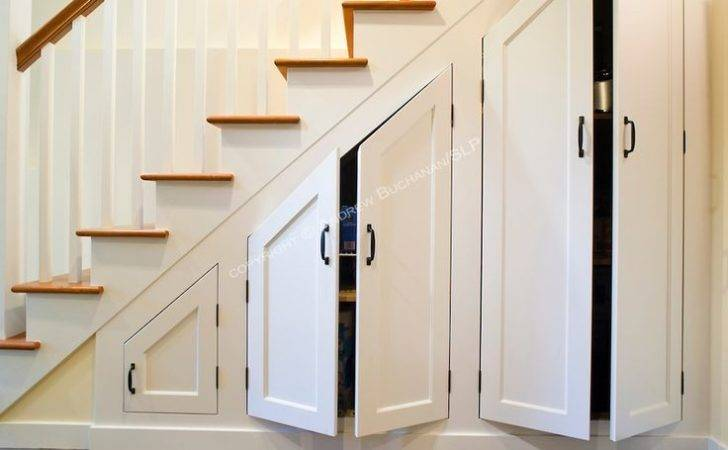 Under Stair Cabinet Built Ins Custom Cabinets Stairs