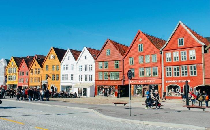 Unesco World Heritage Bryggen Bergen Norway Hand