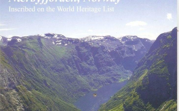 Unesco World Heritage Postcards Norway West Norwegian Fjords
