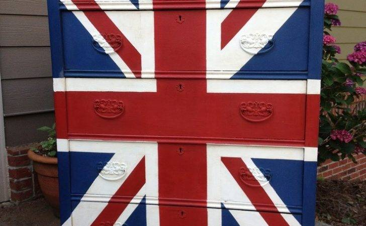 Union Jack Dresser Cupboards Dressers Storage Pinterest