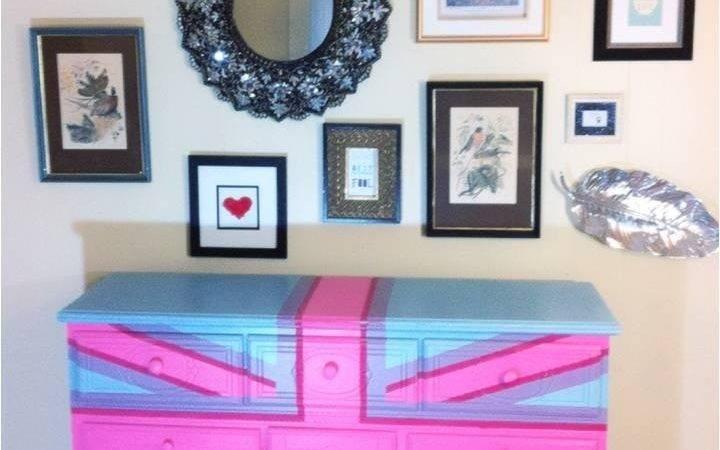 Union Jack Dresser Cute Tha Flat Pinterest