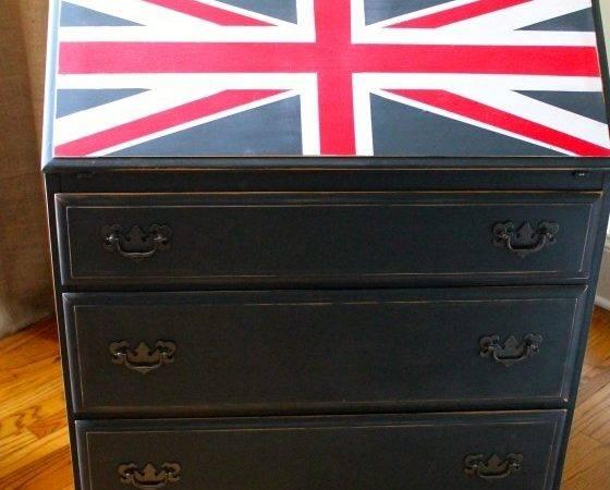 Union Jack Dresser Desk
