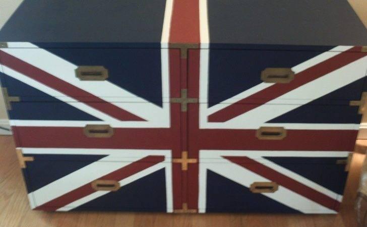 Union Jack Dresser Home Pinterest