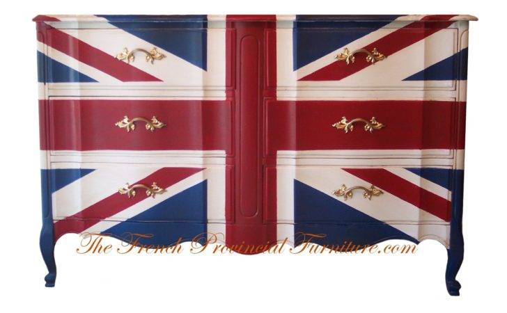 Union Jack French Dresserbymerandasnyder