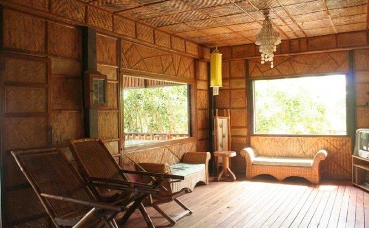 Unique Bamboo House Minimalist Modern Home Design
