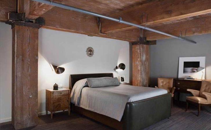 Unique Basement Bedroom Decorating Ideas Vintage Design