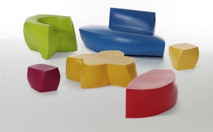 Unique Colorful Furniture Home Design
