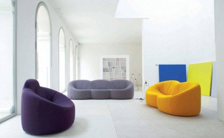 Unique Colorful Living Room Sofas Home Interior Design