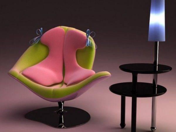 Unique Comfortable Chair Italo Rota