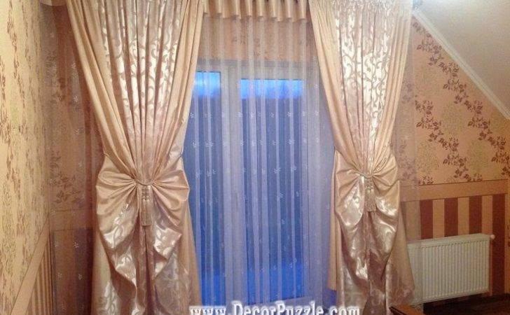 Unique Curtain Designs Styles Embossed Curtains