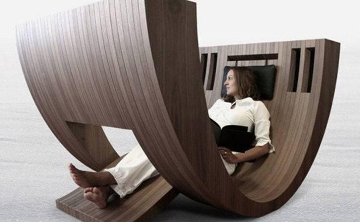 Unique Curved Chair Claudio Amore Khosa Interior Design