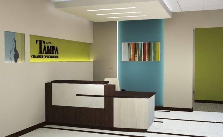 Unique Desk Designs Modern Reception Ideas Office