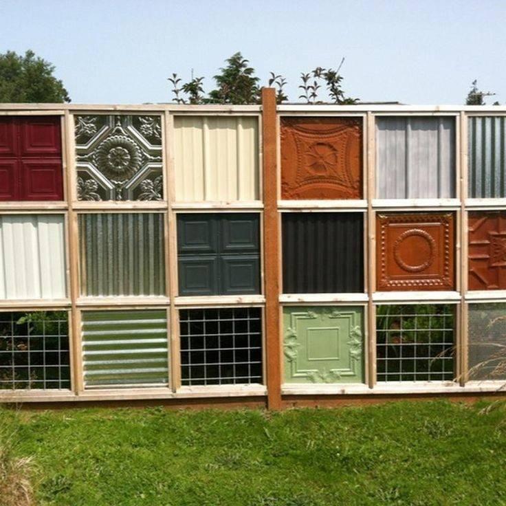 Unique Fences Ideas Gardening Wild Birds Pinterest