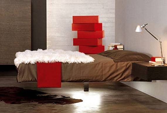 Unique Floating Bed Idea Fluttua Lago Bond