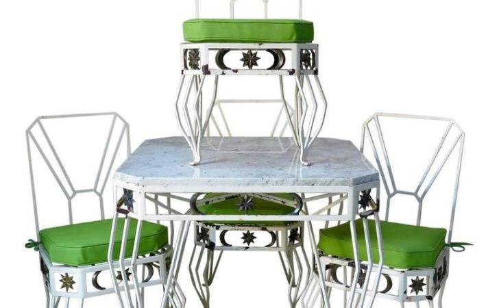 Unique French Star Moon Dining Set Sale Stdibs