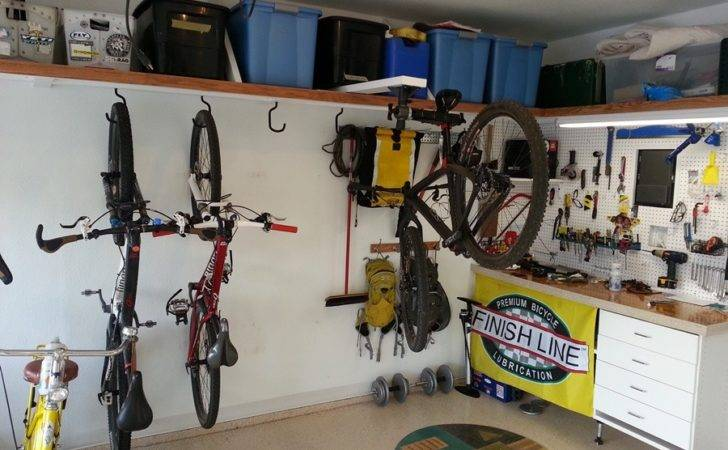 Unique Garage Bike Storage Ideas Bicycle