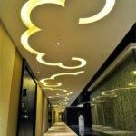 Unique Led Ceiling Lights Hallway False Design