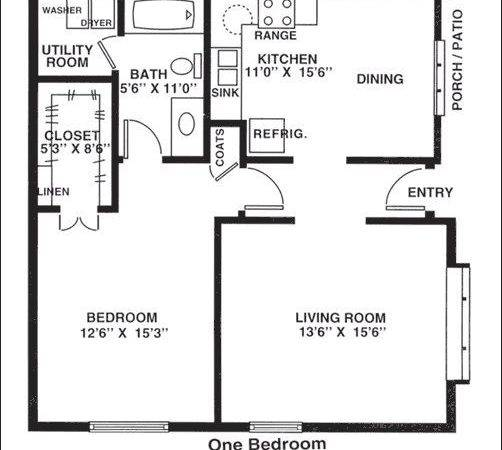 Unique One Bedroom Cottage Plans Rustic Region