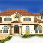 Unique Spanish Mediterranean House Design Luxury Custom Home