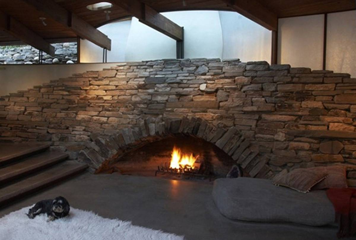 Unique Stone Fireplace Ideas Iroonie