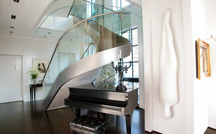 Uniquely Indoor Staircase Designs Modern Spiral