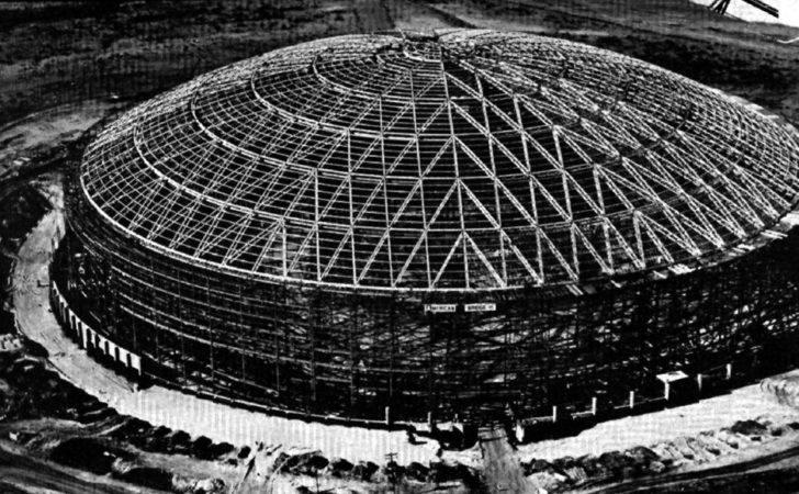 Unusual Dome Awaits Baseball Season Houston