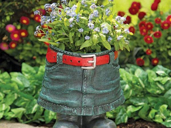 Unusual Flower Planters Your Backyard Fall