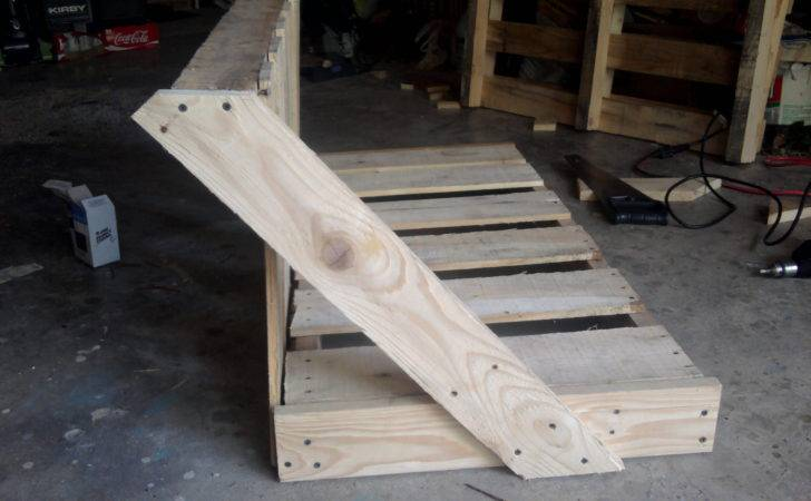 Upcycled Pallet Bench Swing Meandering Thoughts