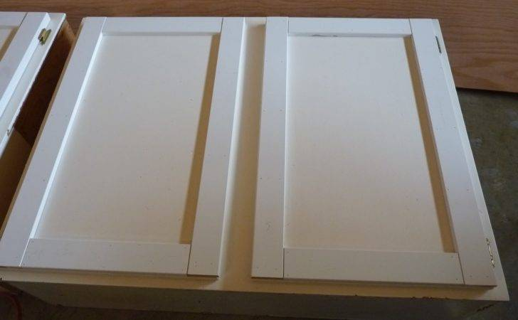 Upcycled Shaker Panel Cabinet Doors