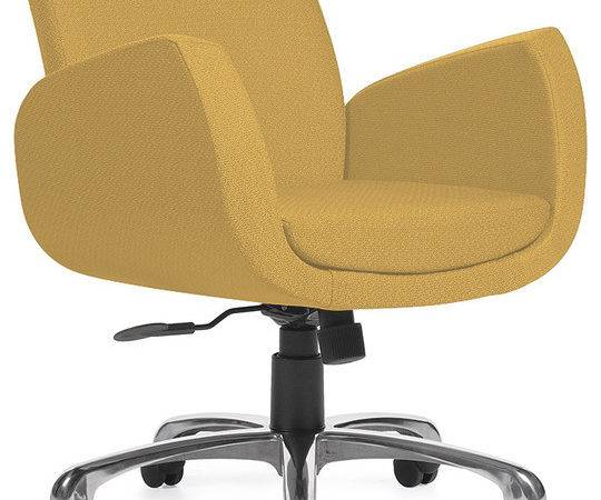 Uphostered Office Chair Contemporary Chairs Belle