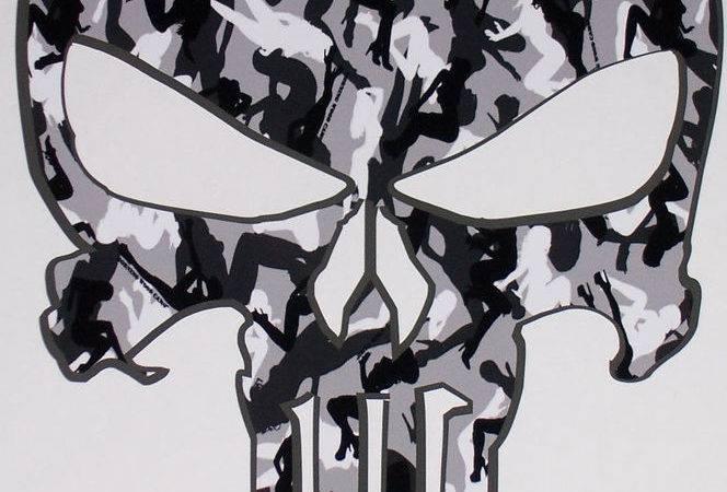 Urban Camo Skull Trailer Window Decal Decals Sticker Truck Mossy Oak