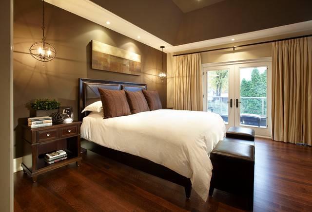 Urban Chic Contemporary Bedroom Toronto Parkyn Design